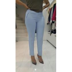 Pantalons Bleu-ciel