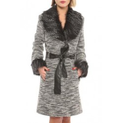 manteau avec forrure