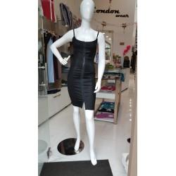 robe noir simple